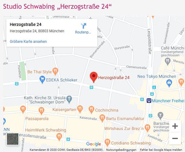 Anfahrt Thida-Thai Massage-Herzogstraße 24