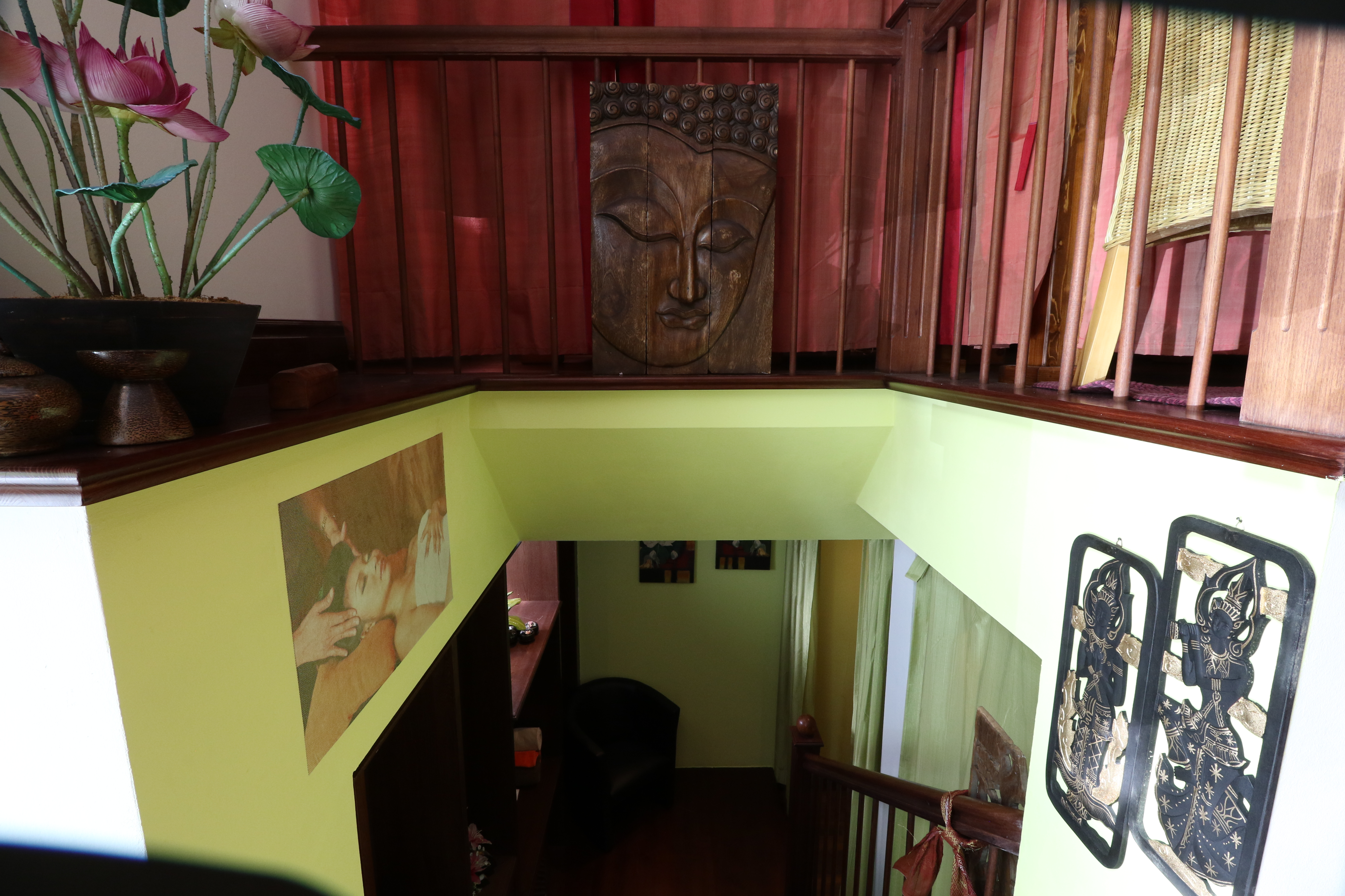 Treppe zum Untergeschoss